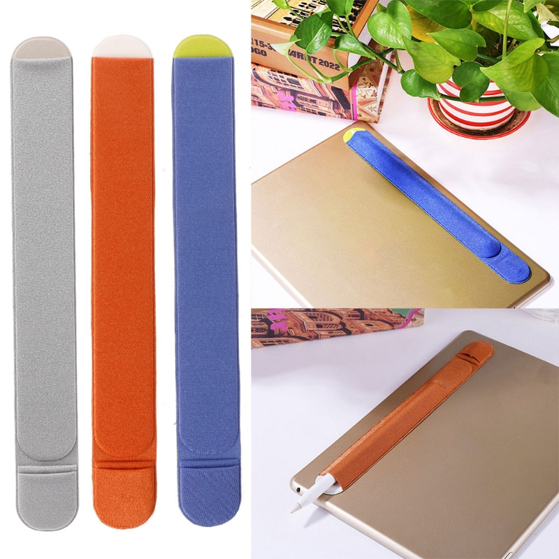 Soft Tablet Stylus Pen Protective Sleeve Adhesive Pouch For Apple Pencil IPad Pro