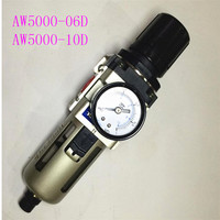 AW5000-06D AW5000-10D smc 타입 에어 필터 레귤레이터 수분 트랩 3 공기 처리 장치
