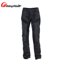 Riding Tribe Men's Motorcycle Pants Racing Knee Armor Protector Jeans Moto Motorbike Jeans Motocross Off Road Trousers