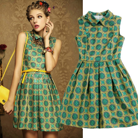 Vintage style summer dresses