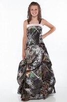 Mossy oask камуфляж платье подружки невесты длинные 2019 новые стили Размер 0 на заказ
