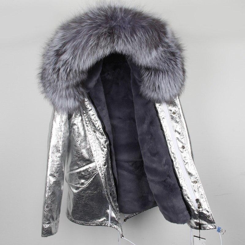 Бренд натуральный мех пальто 2019 парка зимняя куртка женская большой натуральный мех енота воротник парки теплое плотное зимнее пальто женс