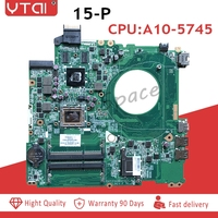 766715 501 15 P motherboard for HP Pavilion 15 P laptop motherboard CPU A10 5745M 766715 501 DAY23AMB6F0 100% tested intact