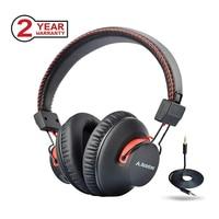 Avantree 40 hours DUAL Mode Bluetooth Over Ear Headphones with Mic, Super COMFORTABLE, Wireless & Wired, aptX Hi fi NFC Headset