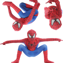 Red  Spiderman Costume Spider Man Suit Spider-man Costumes Children Kids Spider-Man Cosplay Clothing halloween costume