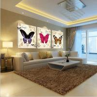 New 3 Pieces Piece Wall Picture Art Work For Bilder Flower Canvas Print Oil Pictures Modular