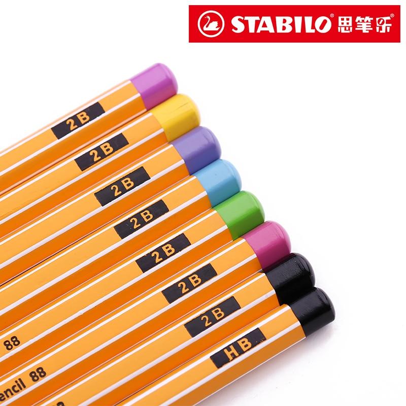 lapis stabilo alunos 88 escrita lapis de madeira hexagonal lapipas padrao lapis 2b lapis de cor