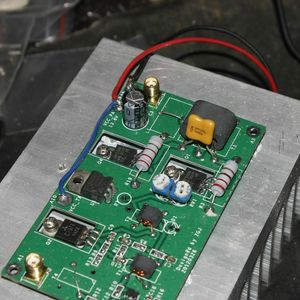 Image 4 - 45W SSB לינארי מגבר כוח עבור משדר HF רדיו בגלים קצרים רדיו HF FM CW חזיר קצר גל 3 28MHz