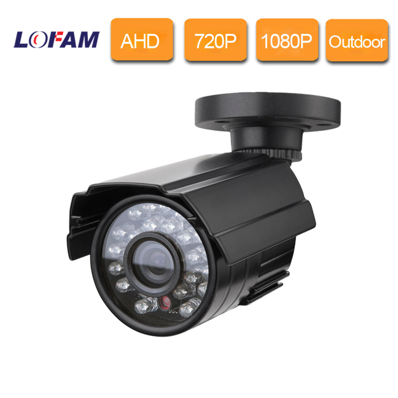 Lofam Cctv Camera Ahd 720p 1080p Surveillance Day Night Vision 1mp