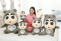 Stuffed Toy Lovely Crayon Turned To Totoro Plush Toy Soft Pillow Toy Christmas Gift W0977