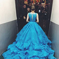 Bealegantom New Fashion Lace Ball Gown Quinceanera Dresses 2017 Appliques Sweet 16 Dresses For 15 Years Vestidos De 15 Anos QD78