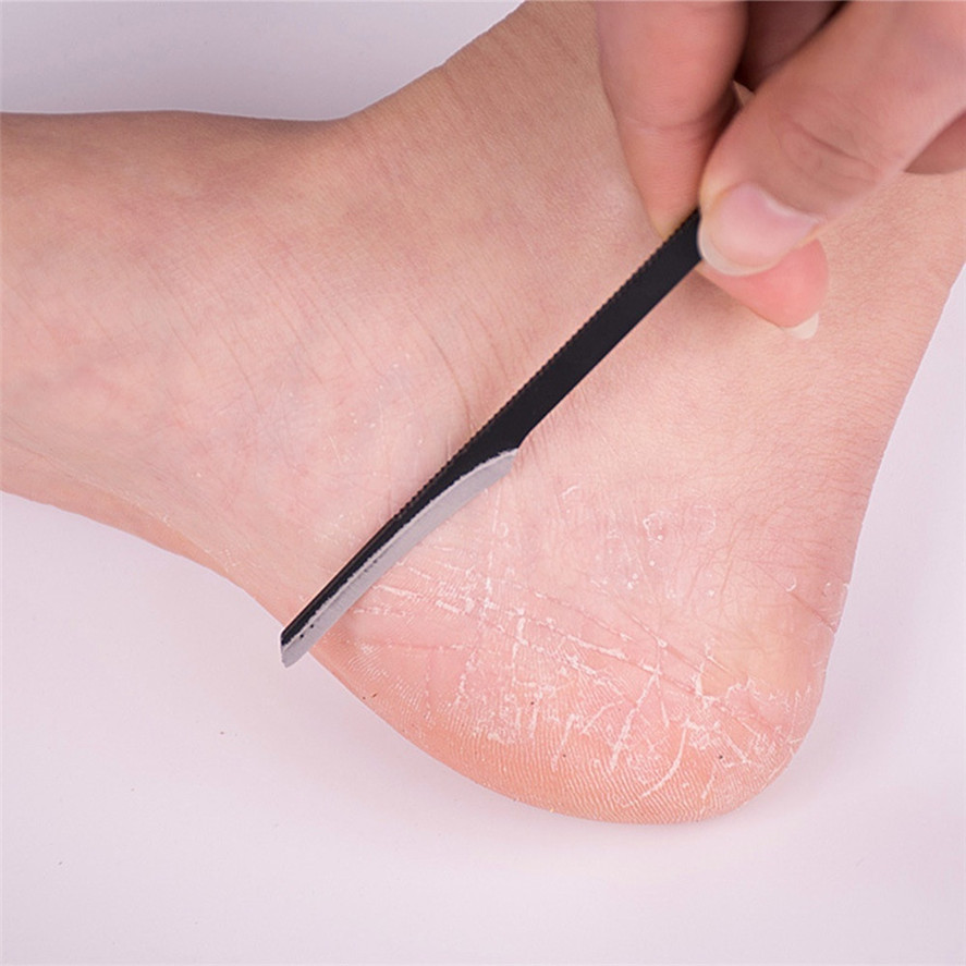 New 1PC Dead Skin File Pedicure Manicure Nail Cleaner Cuticle Grooming Dead Skin Planer High Quality 30