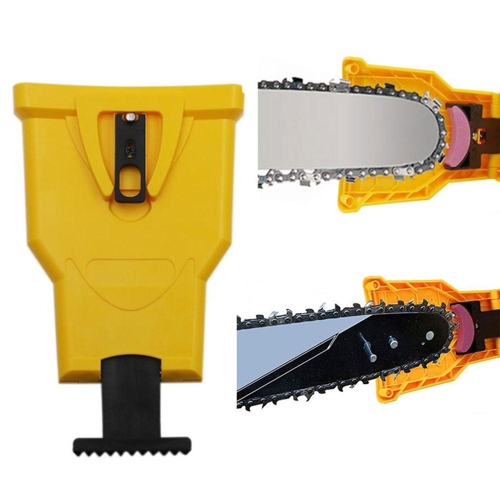 Portable Proprietary Chainsaw Saw Chain Sharpener Fast-Sharpen Stone Grinder Tools Unique On Job Cutter