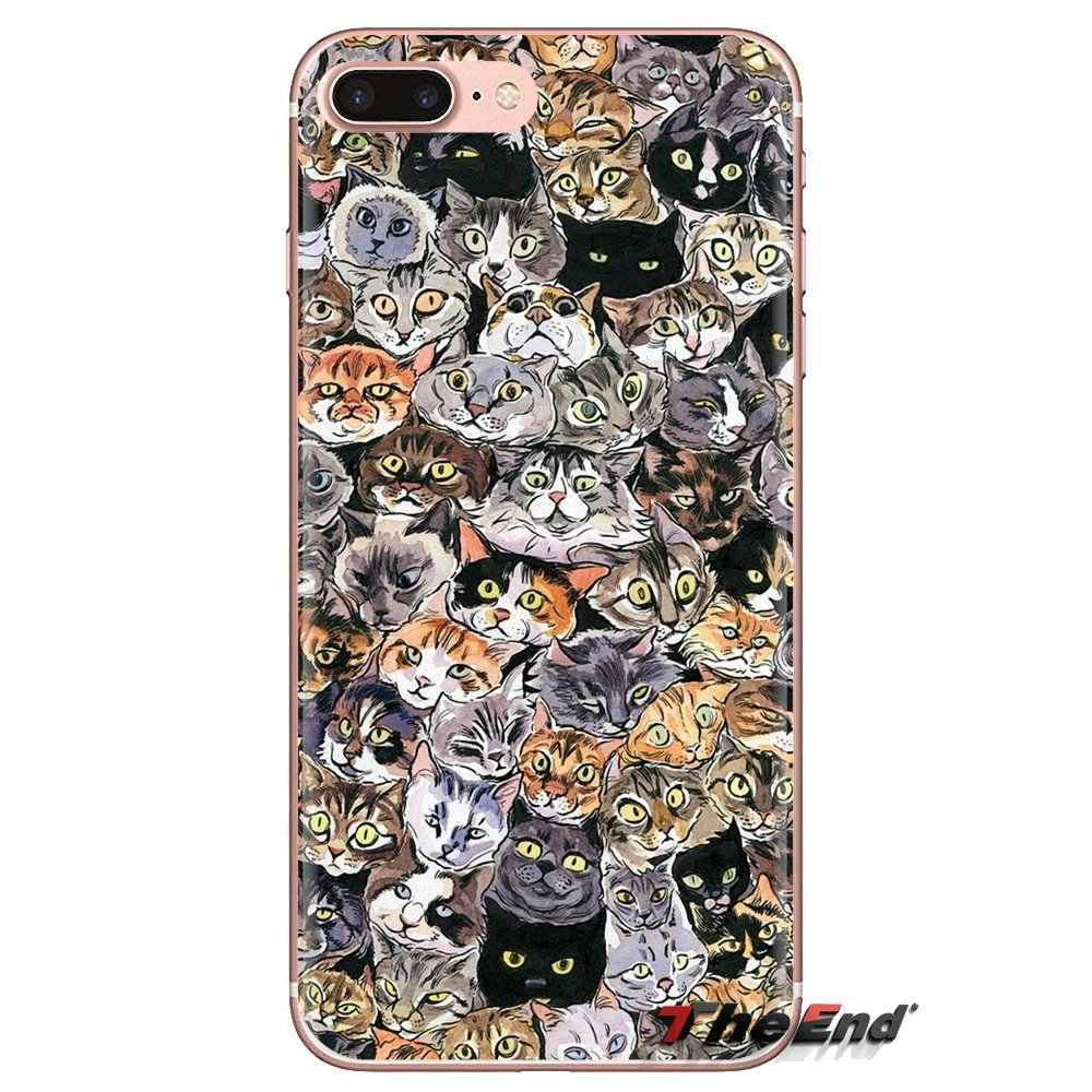 Mềm mại Trong Suốt Có Động Vật Dễ Thương Hơn Cáo cát Cho Ipod Cảm Ứng iPhone 4 4S 5 5S SE 5C 6 6S 7 8 X XR XS Plus MAX