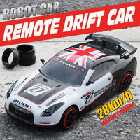 High speed rc drift racing car 4wd wireless 2.4g radio remote control cars toys charging sports car toy gift