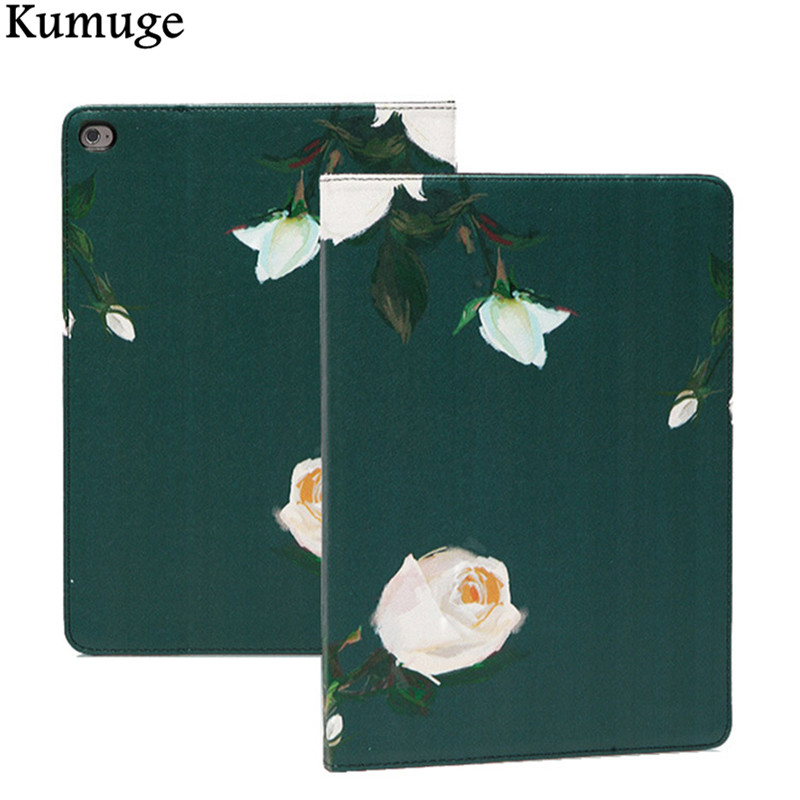 2017 Case for iPad air 2 iPad 6 PU Leather Tablet Cover Case for iPad Air 1 iPad 5 Pro 9.7 inch Funda Capa Para +Film+Stylus Pen dolmobile luxury print flower pu leather case cover for chuwi hi13 13 5 inch tablet with hand holder stylus pen