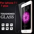 10x 2.5d ultra templado vidrio de la pantalla para iphone 7/7 plus/6/6 plus protector de pantalla guardia de protección película para iphone 6 s/5S/se/5c/4S