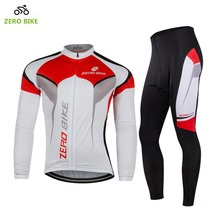 ZERO BIKE 2017 Men's MTB Bike Cycling Jersey Professional Breathable Outdoor sports bicycle clothing White M-XXL