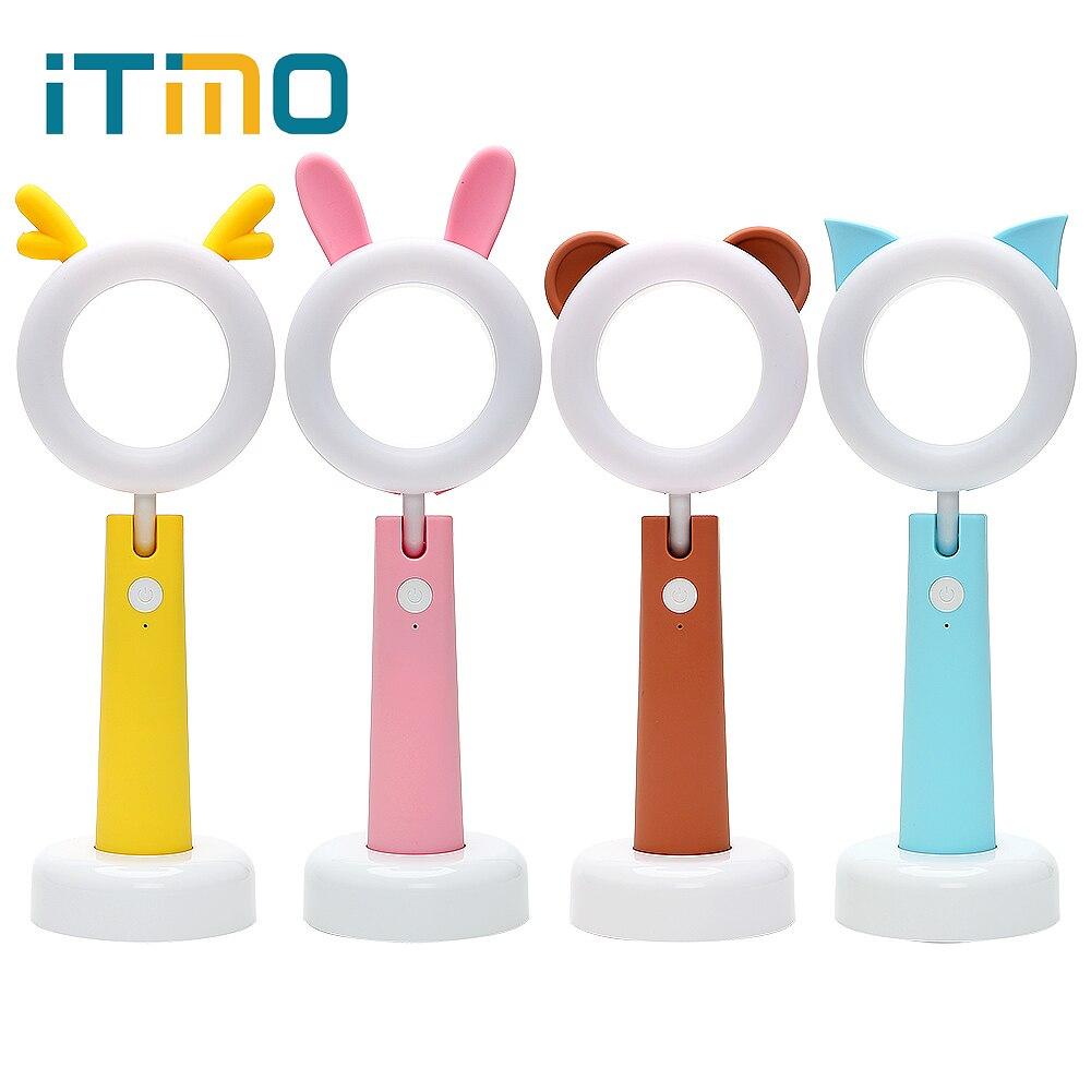 ITimo LED Pet Lamp Reading Lamp USB Rechargeable Adjustable Desk Light Night Light Book Light Indoor Lighting
