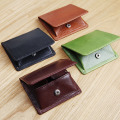 LAN  leather coin bags men's leather wallet  mini change purse unisex coin purses holders