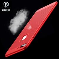 Baseus Breath Phone Case For iPhone 7 6 6s Luxury Thin Slim Coque Fundas Hard PC Cover Case For iPhone 7 6 s 6 Plus Capinhas