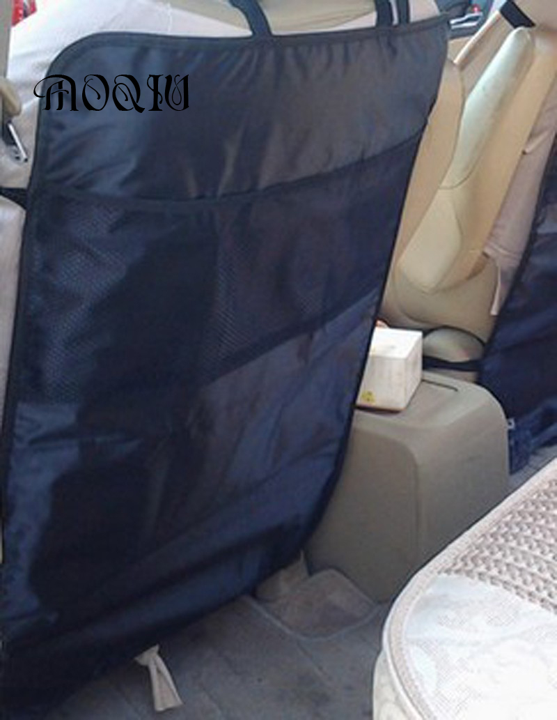 New Style Anti Kicking 1 black Universal Protective child car seat Padded back Scuff dirt protection Interior Accessories