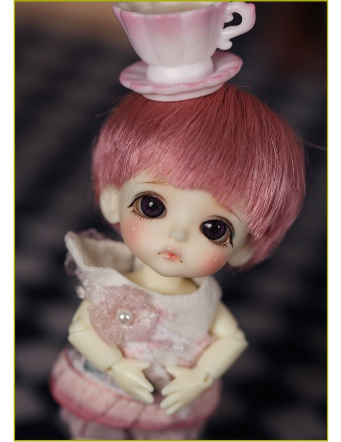 Luodoll	BJD SD doll doll linachouchou bebe miu 8 1/8 minutes to send the baby girl  free shipping