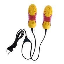 220V 10 Вт штепсельная вилка европейского стандарта в форме гоночного автомобиля светильник фиолетовый сушилка для обуви запах нагреватель с дезодорантом