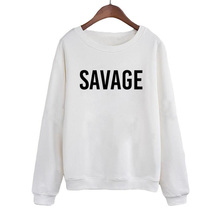 Women Pullover Streetwear Punk Fashion Clothing Female Tracksuit Tops Savage Harajuku Sweatshirt Crewneck Hoodies