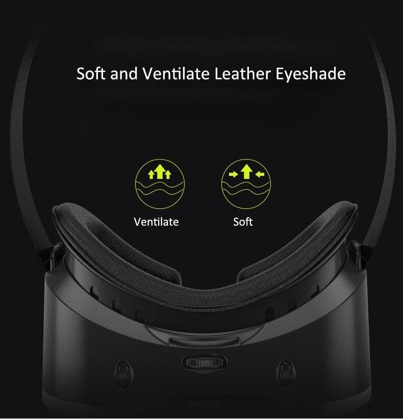 VR Shinecon 2.0 Google Cardboard VR BOX 2.0 Virtual Reality goggles VR 3D Glasses Immersive for 4.5-6.0 inch smartphones 30