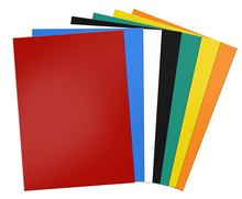 5pcs Mixed color rubber Magnetic Sheet board 0.5mm For Spellbinder Dies/Craft Strong Thin And Flexible 297x210mm
