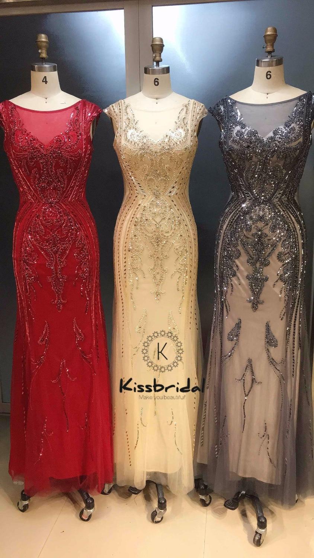 vestido de festa longo Stunning Long   Evening     Dress   2019 Backless Elegant Women Formal   Dress   Party Wear