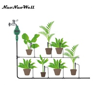 NuoNuoWell Automatic Intelligent Electronic Garden Watering Kits Water Timer Irrigation Timer For Garden Yard Irrigatino System