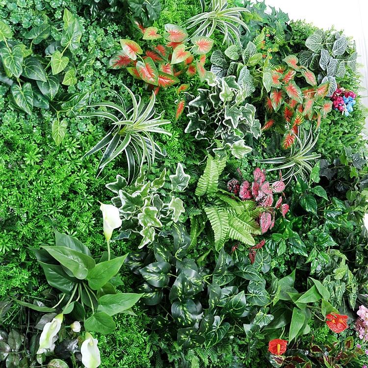 Искусственные растения «сделай сам», листья, цветы, цветочные растения, искусственные растения для украшения стен дома, магазина, сада
