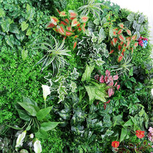 Imagine decoração de parede de folhas artificiais, faça você mesmo, plantas falsas para loja em casa, jardim
