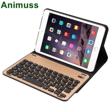 Animuss Ultra Thin PU Leather Case Cover Wireless Bluetooth Keyboard For iPad Mini 1/2/3