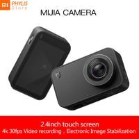 Xiaomi Mijia 4k Camera Action and Video Camera Sport Camera 30fps 145 Angle 2.4 HD Screen Bluetooth WiFi camara deportiva