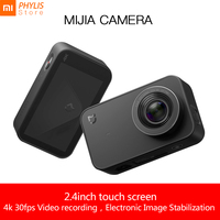 Xiaomi Mijia 4k Camera Action and Video Camera Sport Camera 30fps 145 Angle 2.4 HD Screen Bluetooth WiFi camara deportiva
