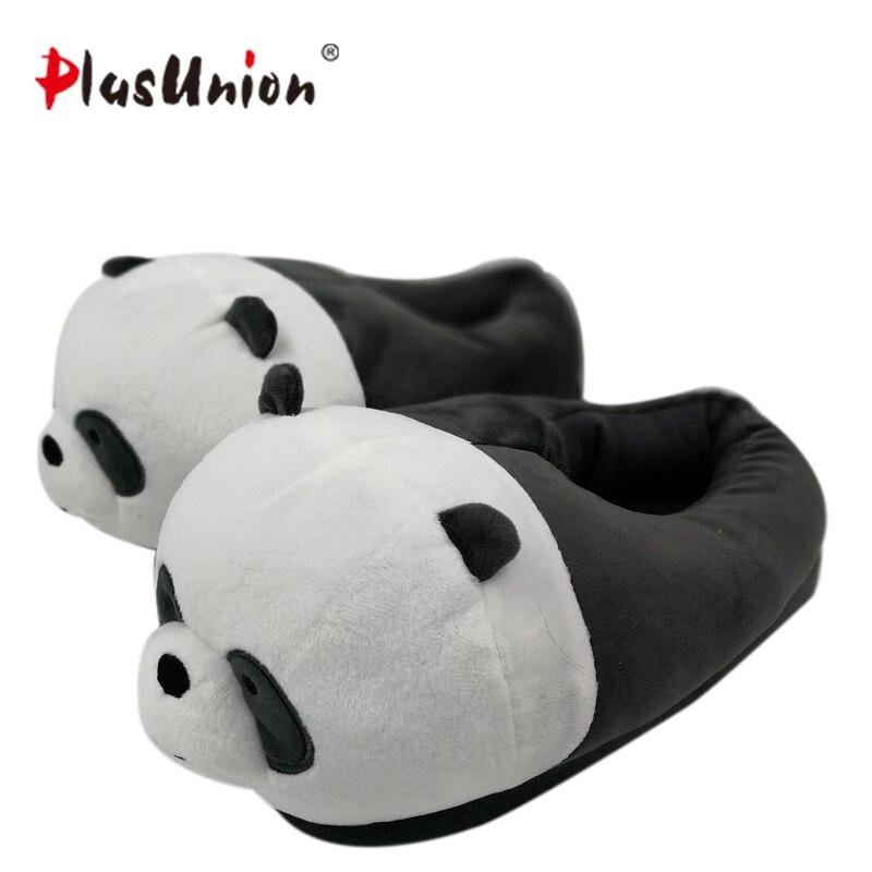 Intérieur troupeau en peluche fourrure pantoufles de bande dessinée pour adultes chaussures de chien chaud femmes animal maison cosplay costume maison d'anime d'hiver pantoufle