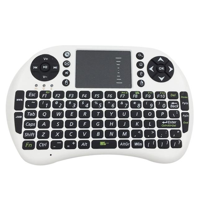 2.4G không dây Bàn Phím Tiếng Anh Mini UKB-500 Chuột Đa Phương Tiện Truyền Thông Điều Khiển từ xa Bàn Di Chuột Cầm Tay Bàn Phím cho TIVI box cho máy tính Mini PC