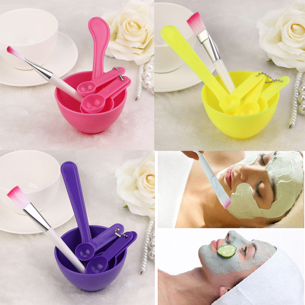 4 in 1 Set Women Facial Beauty Professional Kits Tools