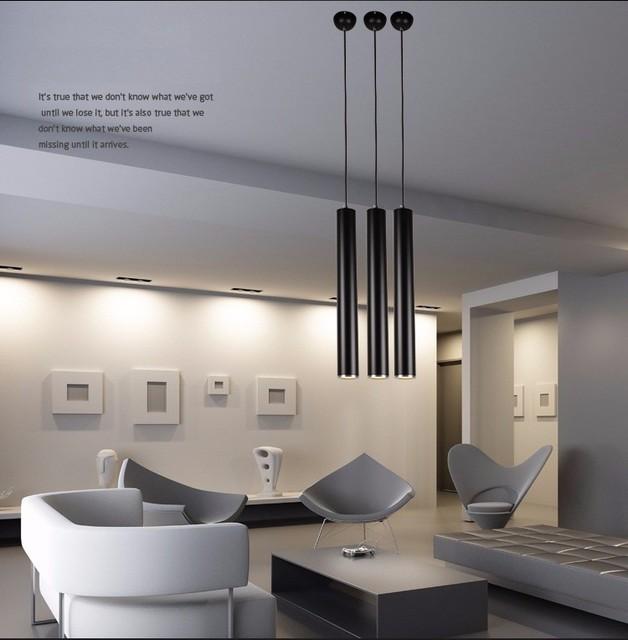 Cilindro di Illuminazione A Sospensione Lights Bar Per Bar Cucina ...