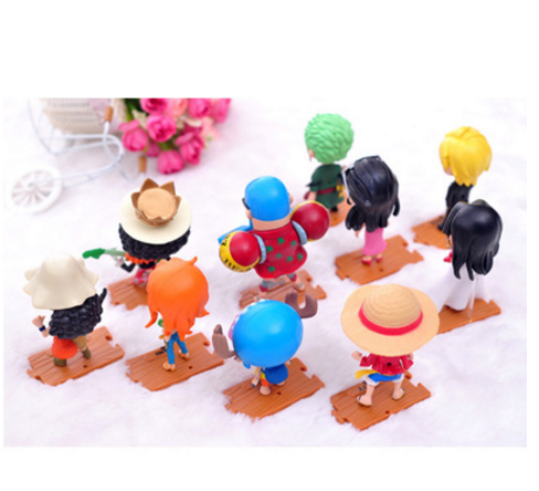 A complete set characters 68 generations 10 models hand toys decorative models of vehicle ornaments deck models action figure