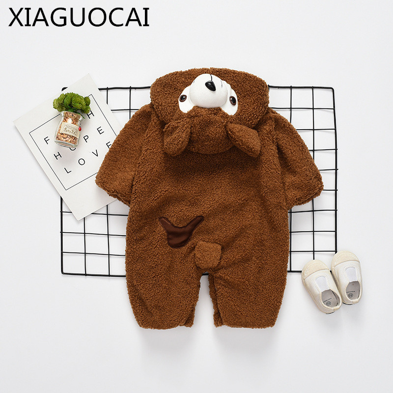 2017 Brand Designer Autumn Winter Baby children Blanket Sleepers Soft Flannel Boys Girls Hooded Romper Children Sleepwear A84 27