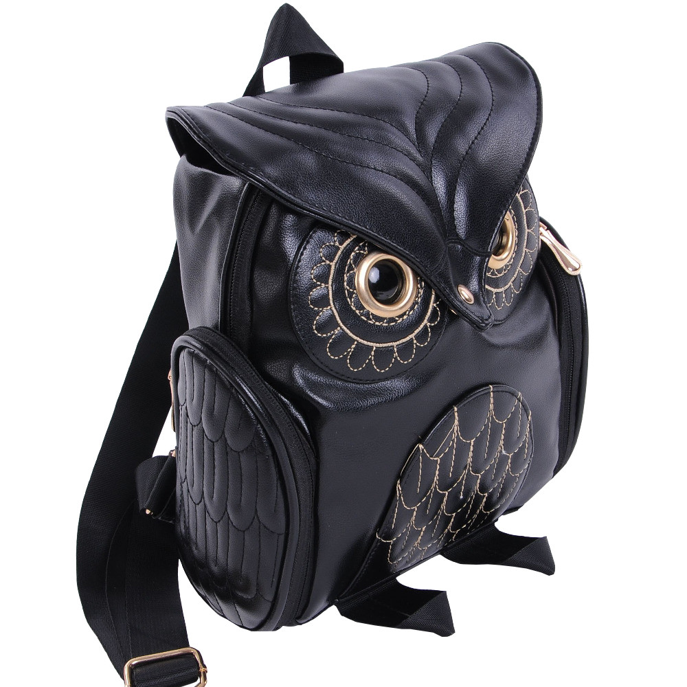 HTB1KfjgB5OYBuNjSsD4q6zSkFXaS Cute Owl Fashion Backpacks Cartoon Women Backpack Softback School Bags Teenage Backpacks for Girls #YL5