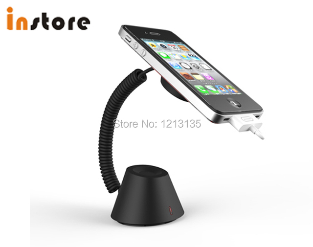 Mobile Phone Anti Theft Security Alarm Display Stand Holder For Cellphone Exhibition