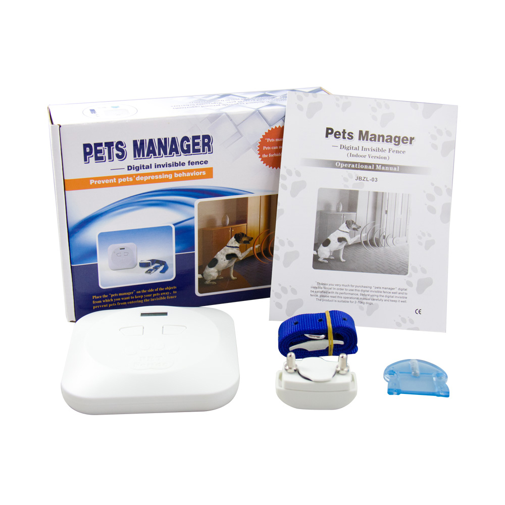 indoor wireless pet dog fence system electronic dog inhouse training pet fence collar system