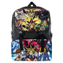 Yu Gi Oh The Darkside Of Dimensions Backpack Game Master Cosplay Backpack Shoulder bag School Book Bag Gift(China)