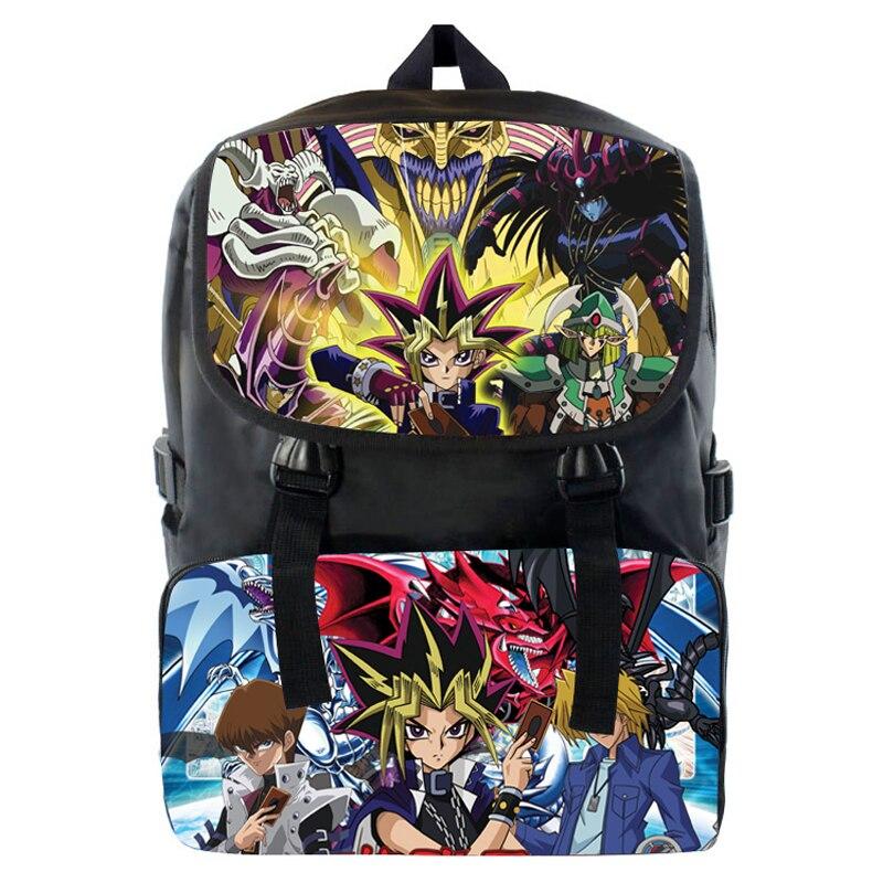 Yu Gi Oh The Darkside Of Dimensions Backpack Game Master Cosplay Backpack Shoulder bag School Book Bag Gift