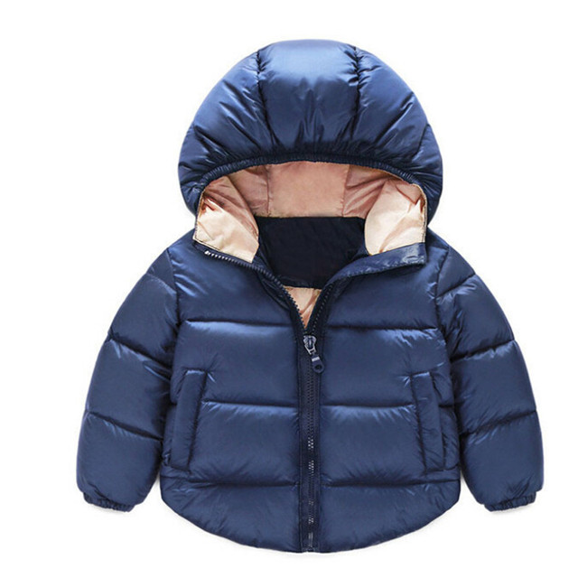 Children's clothing Fashion winter cotton-padded jacket 2017 down cotton-padded jacket spring & autumn boys girls Hooded coat
